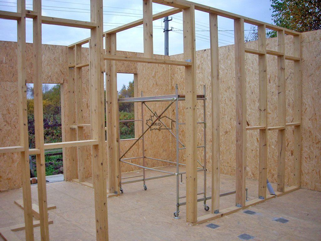 Устройство перегородки в деревянном доме своими руками 48