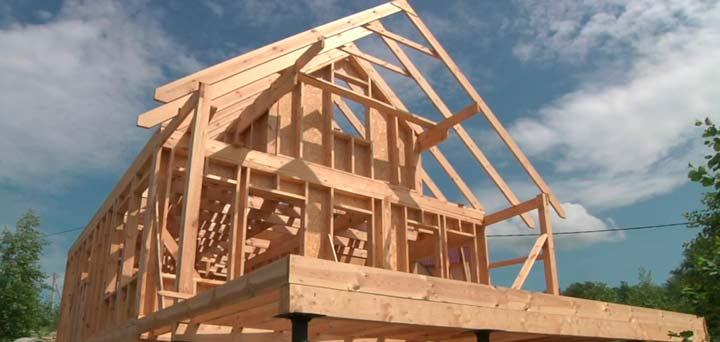 Каркасный дом на винтовых сваях пошаговая инструкция