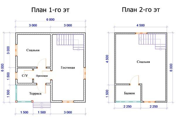 Как сделать планировки каркасного дома своими руками с террасой и балконом на фото.