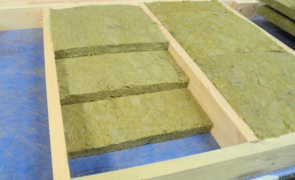 Базальтовая вата применяется при утеплении каркасного дома фото.