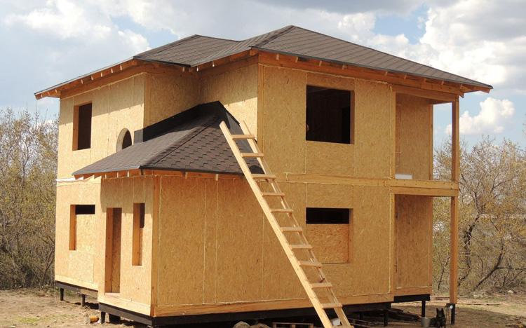 Построить дом каркасно-щитовой