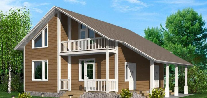 Построить лучшие каркасные дома можно своими руками.