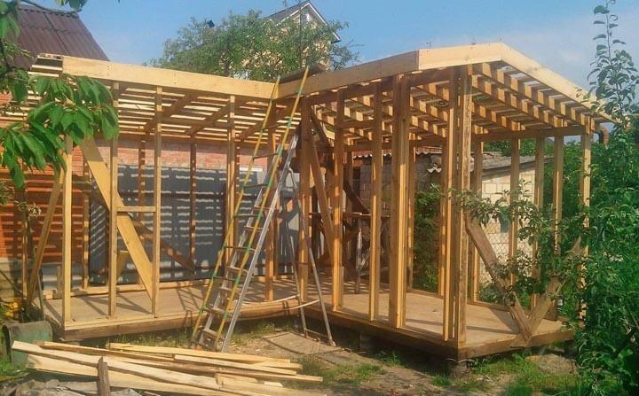 Как построить деревянную бытовку своими руками пошаговая инструкция
